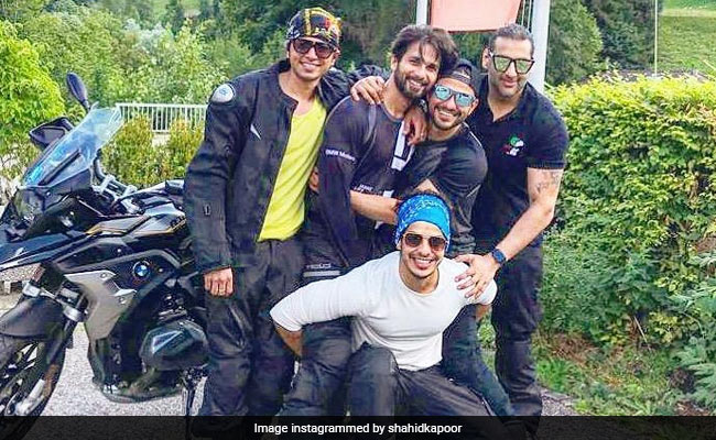 Shahid Kapoor And His 'Biker Boys' Ishaan Khatter And Kunal Kemmu Are Living Their Best Lives