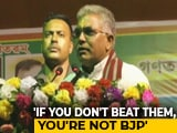 Video: Case Filed Against Bengal BJP Chief After Threat to Strip, Thrash Cops