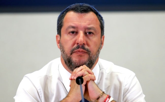 Italy's Matteo Salvini Says Government Is Finished, Wants Elections