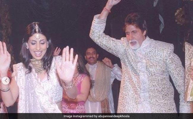 अभिषेक और ऐश्वर्या की शादी में बेटी श्वेता संग इस तरह नाचे थे अमिताभ बच्चन , Photos हुईं वायरल