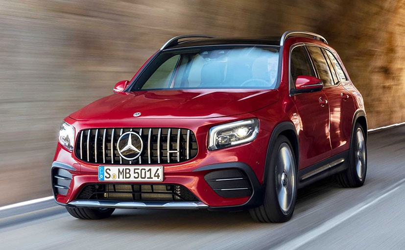 The new Mercedes-AMG GLB 35 is a performance oriented version of the GLB seven-seater MPV.