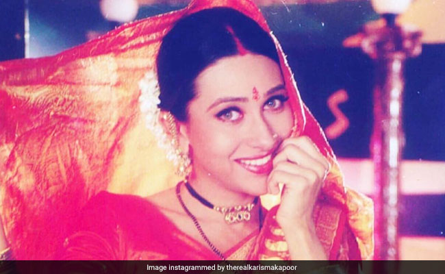 On National Handloom Day, Karisma Kapoor Reveals Her Love Of Sarees Began With This Film