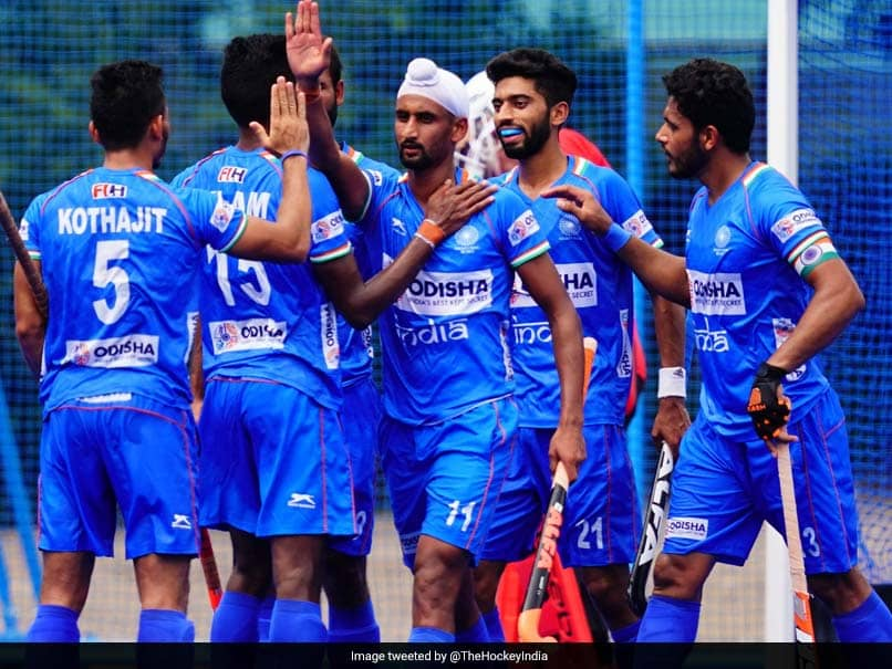 Indian Mens Hockey Team Hammers New Zealand 5-0 To Win Olympic Test Event