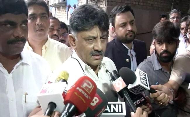 Summoned On Ganesh Chaturthi, DK Shivakumar Chokes Up Over Late Father