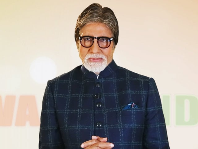 Video : For A Child To Be Healthy, The First 1000 Days After Birth Are Crucial: Amitabh Bachchan