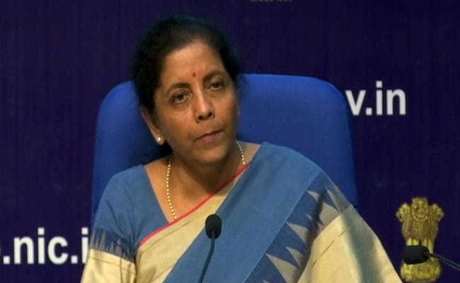 More Measures Coming To Prop Up Economy: Nirmala Sitharaman