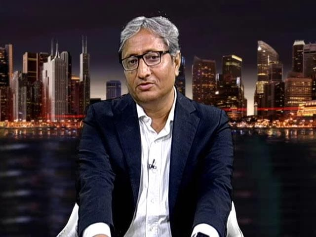 "Video : Ravish Kumar's Response On Being Labelled ""Anti-Modi"""
