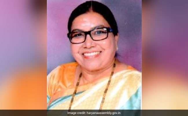 Man Slaps Woman BJP MLA From Haryana, Case Registered