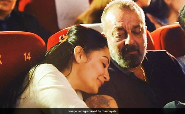 Maanyata And Sanjay Dutt's Loved-Up Pic Is All Heart. Manisha Koirala Comments