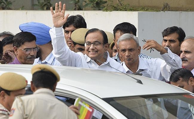 P Chidambaram A Strong Man, In Good Spirits, Says Son Karti