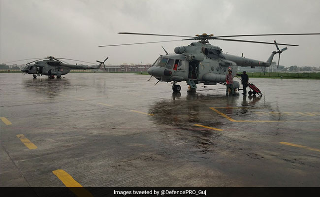 5,000 Evacuated, 45 Villagers Airlifted Due To Floods In Gujarat