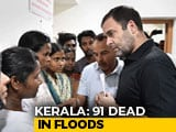 "Video : ""Truly Humbling,"" Rahul Gandhi Tweets After Visiting Flood-Hit Wayanad"