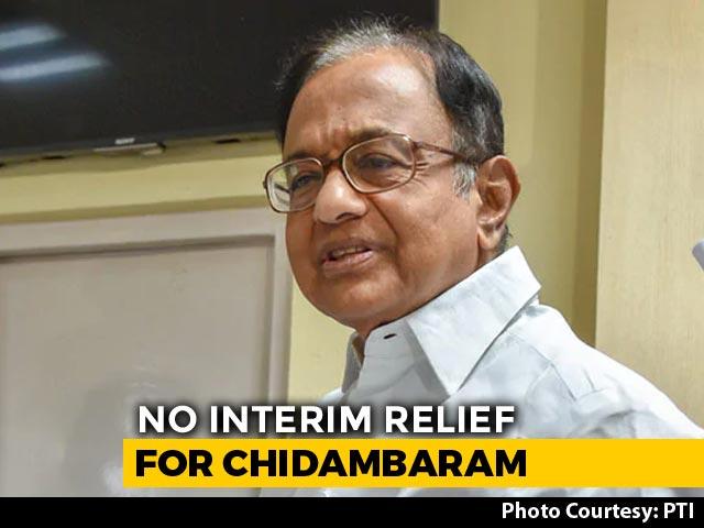 Video : P Chidambaram, Facing Arrest, Has To Wait Till Friday Top Court Hearing