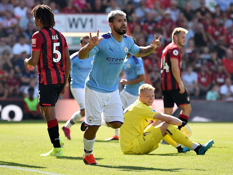 Premier League: Sergio Aguero Reaches 400 Goals In Manchester City Stroll, Newcastle Stun Tottenham
