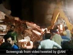 गुजरात के नडियाड शहर के प्रगति नगर इलाके में बिल्डिंग ढही, 3 की मौत