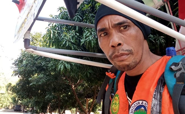 Meet The Man Walking 700 Km In Reverse To Save Forests