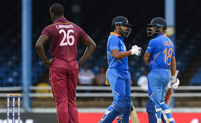 West Indies Vs India, 3rd ODI: India Beat West Indies By 6 Wickets And Won The Series