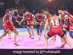 PKL 7: UP Yoddha Beat Bengaluru Bulls; Bengal Warriors, Telugu Titans Play Out Draw