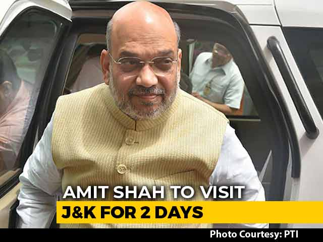 Video : Home Minister Amit Shah Likely To Visit J&K Amid Turmoil: Sources