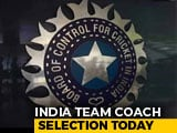 Video : Team India Head Coach To Be Handed Contract Till 2021 World T20