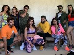 On The Sets Of <i>Khatron Ke Khiladi 10 </i> With Karishma Tanna, Karan Patel And Other TV Stars