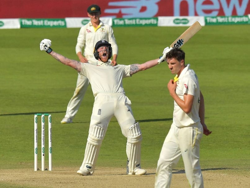 Ashes: Ben Stokes' Stunning Century Sees England To One-Wicket Win In Thriller