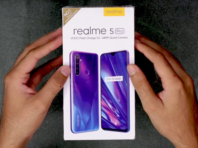 Video : Realme 5 Pro Unboxing And First Look - Price In India, Key Specs