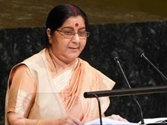 """Outstanding Parliamentarian"": Union Cabinet's Tribute To Sushma Swaraj"