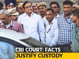 "Video : ""Considering Facts, Justified"": CBI Custody Till Monday For P Chidambaram"