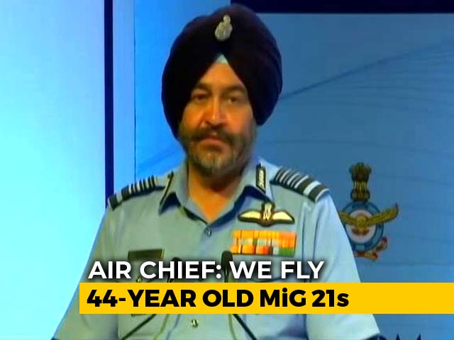 "Video : On MiG Fighters, Air Chief Says ""No One Drives Even Cars That Old"""
