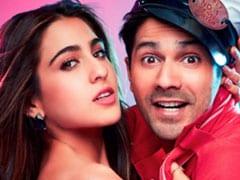 <I>Coolie No 1</I> First Look: Sara Ali Khan And Varun Dhawan Reboot Govinda-Karisma Hit