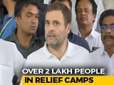 "Video : ""This Is A Disaster, Don't Want To Blame"": Rahul Gandhi On Kerala Floods"