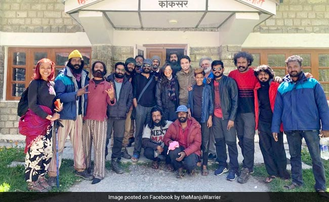 'Safe In Manali': Film Star Manju Warrier Shares Pic With Crew