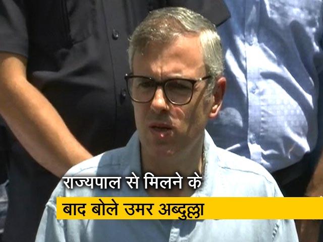 Videos : 'जम्मू-कश्मीर के हालात पर नहीं मिल रहा कोई जवाब'