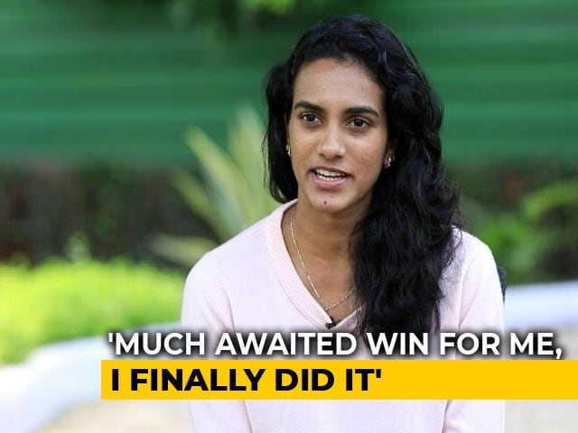 """Video : """"World Championships Win Proud Moment For The Country,"""" Says PV Sindhu"""