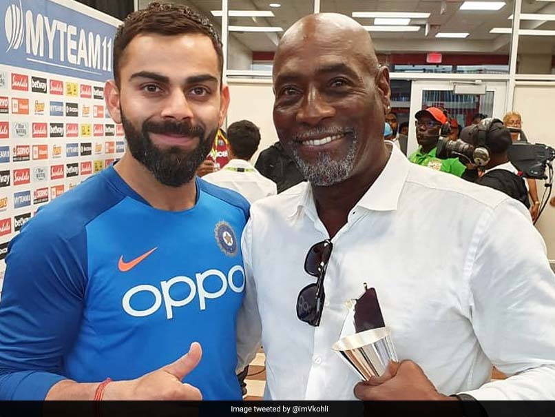 "Virat Kohli, Viv Richards Come Together For A ""Special Interaction"", BCCI Releases Teaser"