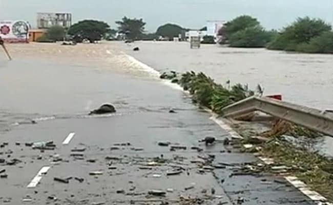 Vanishing Flyover, Rooftops In Water At Maharashtra's