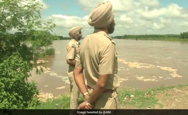 Ludhiana On Alert After Heavy Discharge Of Water In Sutlej In Punjab