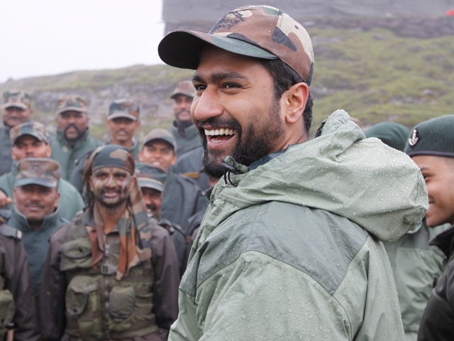 'Good Food... Happy Being Here': Army Teaches Vicky Kaushal Haryanvi