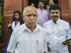 """Not Happy, Pray He Is Out Soon"": BS Yediyurappa On DK Shivakumar Arrest"