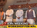 Video : BJP Holds 'Discipline' Class For Lawmakers. Bunking Not Allowed