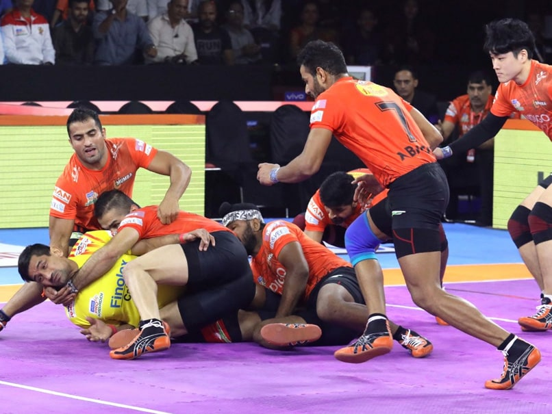 PKL 7: U Mumba Beat Gujarat Fortunegiants; UP Yoddha, Telugu Titans Play Out A Thrilling Tie