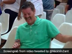 Meet #greenshirtguy Who Laughs Hysterically At Anti-Immigration Protester