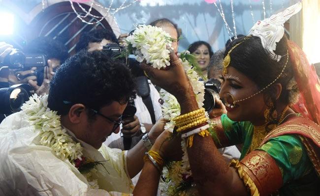 'Rainbow Wedding': Transgender Couple Marry In Emotional Ceremony