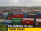 Video : India Received Highest-Ever FDI Of Over $64 Billion In 2018-19