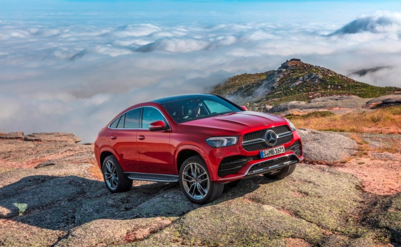 2021 Mercedes-Benz GLE Coupe Breaks Cover