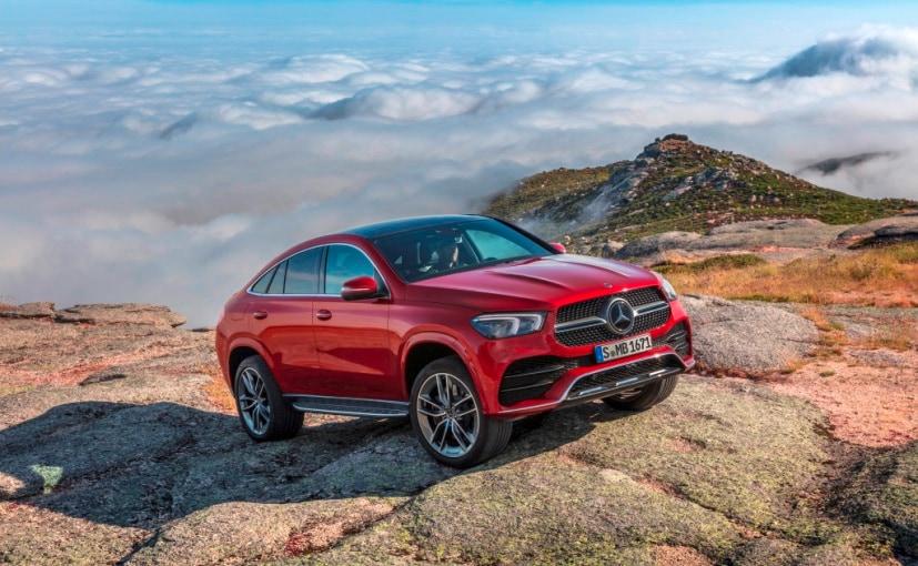 2021 Mercedes-Benz GLE Coupe Breaks Cover - NDTV CarAndBike