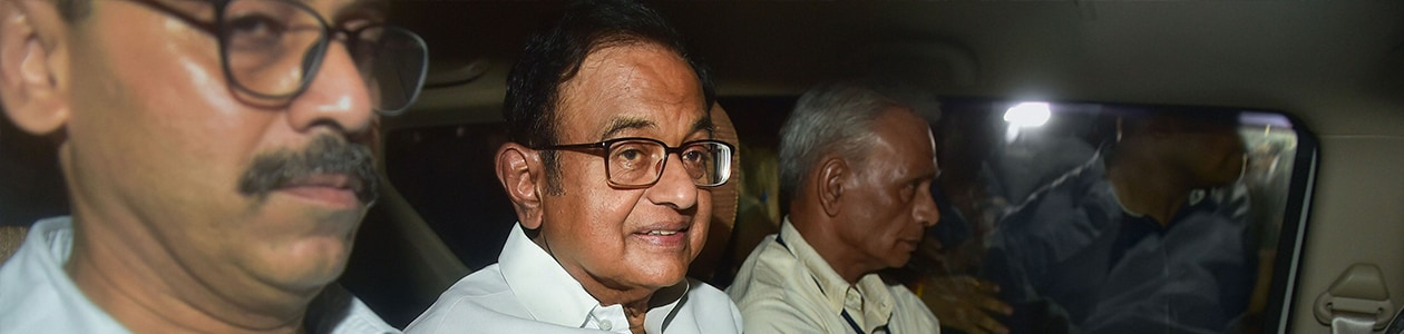 P Chidambaram Arrested From Home By CBI Amid High Drama