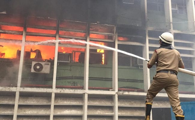 Police Case Filed Against Unknown People After Fire At AIIMS In Delhi