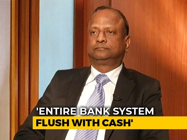 "Video : ""Sitting On 1 Lakh Crores, But Can't Be Business As Usual"": SBI Chairman"